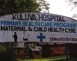 kuluva hospital sign